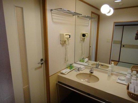 Hotel New Awaji : 洗面所