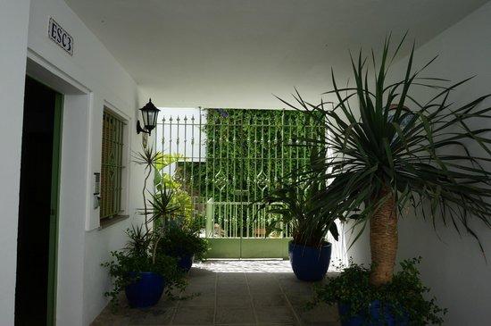 Apartamentos Gravina : Вход во внутренний дворик