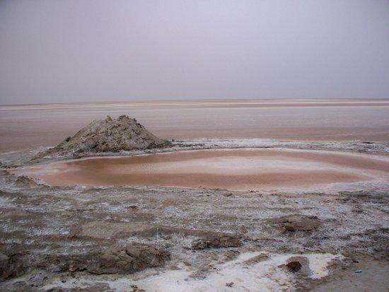 Sahara Desert: salt flats
