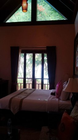Sandalwood Luxury Villas: Latree room where you stay if you arrive early / leave late.