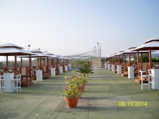 Asterias Beach Hotel : Sitzecken für den Abend