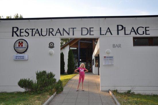 Magnifique entr e bild von restaurant de la plage for Location yverdon les bains particulier