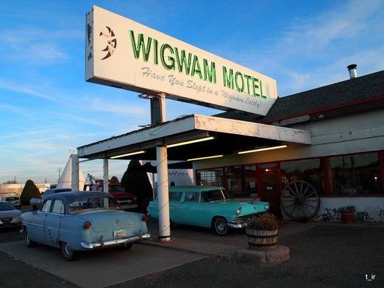 Wigwam Motel: ресепшен