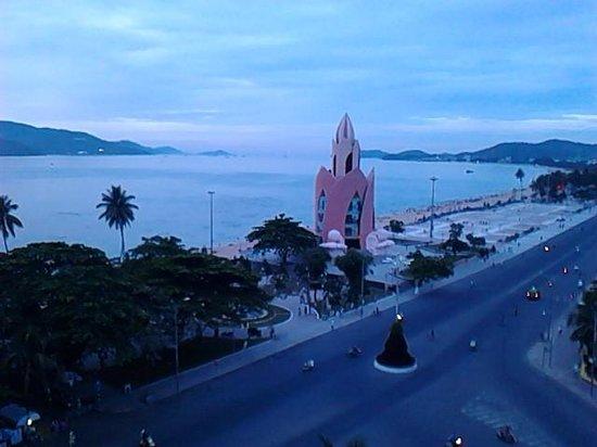 Nha Trang Lodge : ホテルからの風景 早朝5時