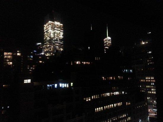 TRYP New York City Times Square South: Vista notturna dalla camera