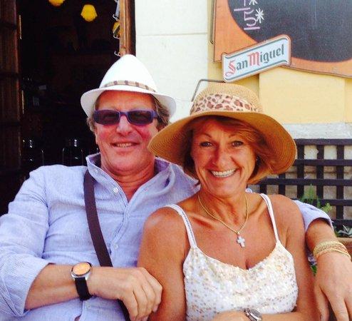 Bed and Breakfast El Refugio: Uitbating : Bruno & Christine