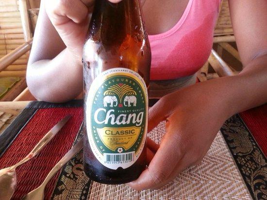 Romantic bamboo : Thai beer