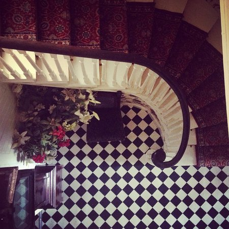 Ashley Park House: Staircase