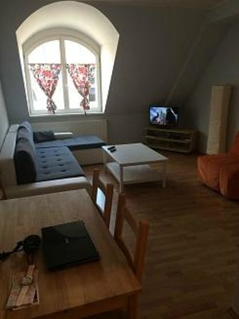 Jacob Brno Apartments - Hostel - Penzion: Гостиная