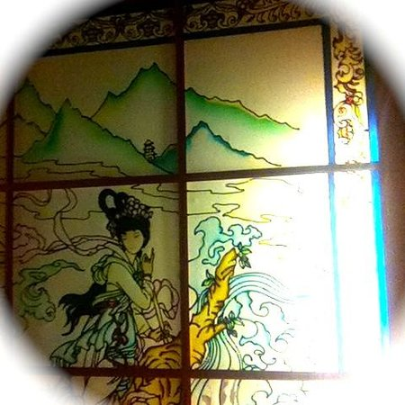 China Restaurant Fregatte: Decke des Restaurants