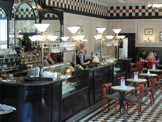 Hotel Bristol, a Luxury Collection Hotel, Warsaw: The Bristol Cafe have a superb range of coffee & cakes