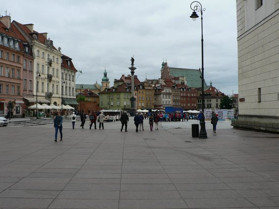 Hotel Bristol, a Luxury Collection Hotel, Warsaw: Warsaw Old Town less than half a mile away from hotel