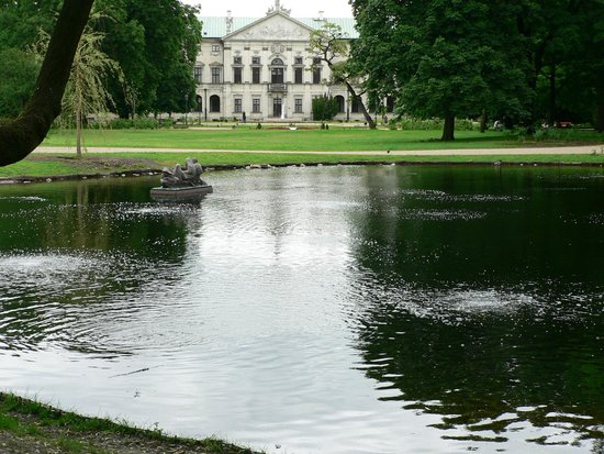 Hotel Bristol, a Luxury Collection Hotel, Warsaw: One of many parks in Warsaw