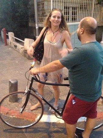 Chef Hostel Tel Aviv Montefiore: Fahrradverleih