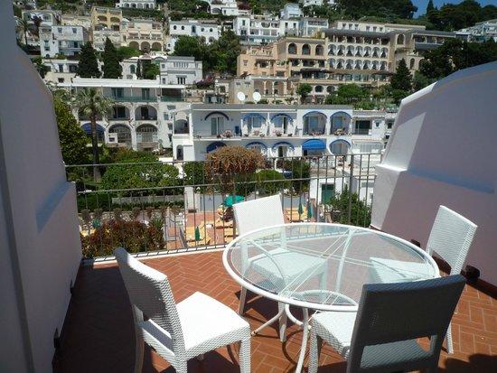 BEST WESTERN Hotel Syrene: バルコニー
