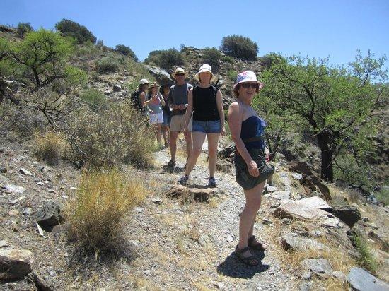 Casa Rural Las Chimeneas: Exploring the hills around Mairena