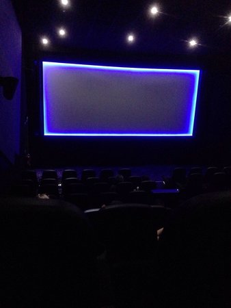 Lighthouse Cinema @ Newquay: Good size screen