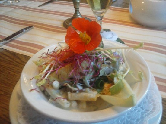 Altes Gasthaus Leve: What an unusual starter