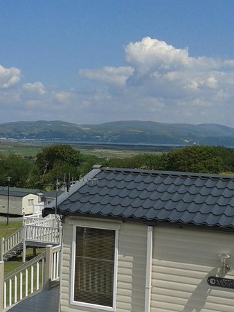 Brynowen Holiday Park: view from our chalet on Gwent area