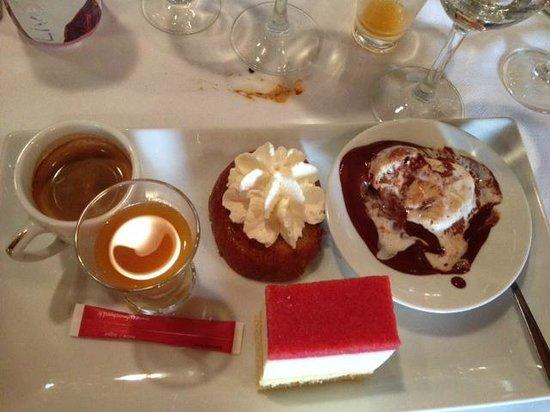 Brasserie Flo : Café gourmand