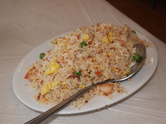 Szechuan House: yang zhou fried rice