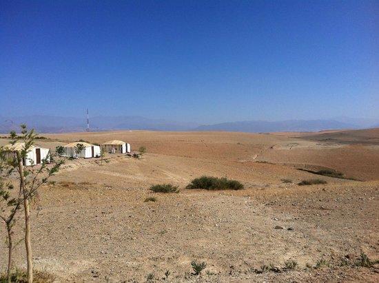 Terre Des Etoiles : Vue de la tente