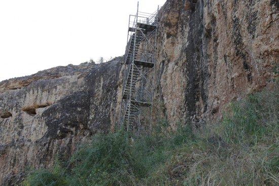 Vingerklip Lodge: Treppe zum Heavens Gate