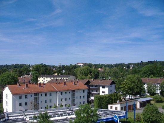 Hotel Vier Jahreszeiten Starnberg: Aussicht von der Dachterasse