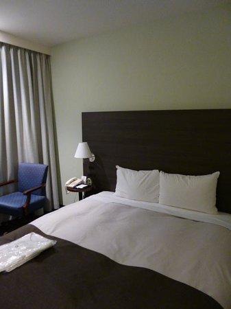 Ginza Grand Hotel: ベッド幅もゆとりがありました