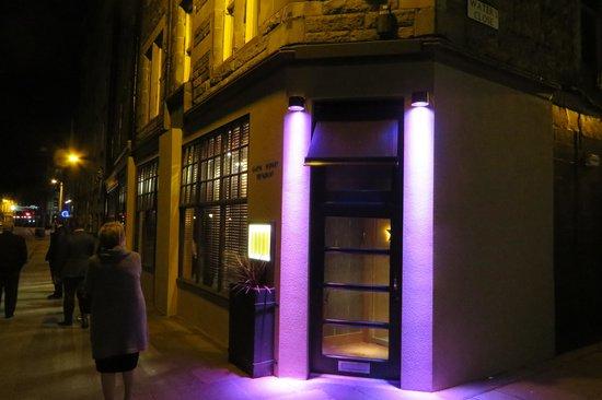 Restaurant Martin Wishart : Entrance of the restaurant