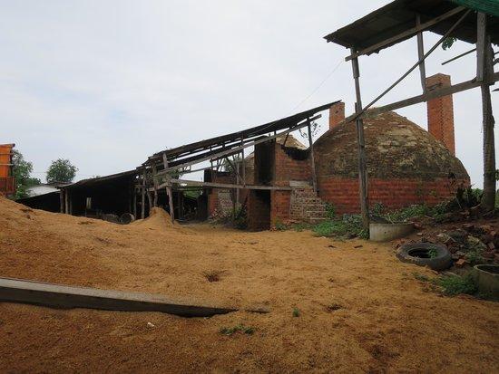 Bamboo Train: Kiln exterior view