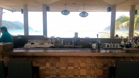 The Taaras Beach & Spa Resort: The beach bar