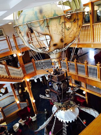 Alton Towers Hotel: Inside the hotel