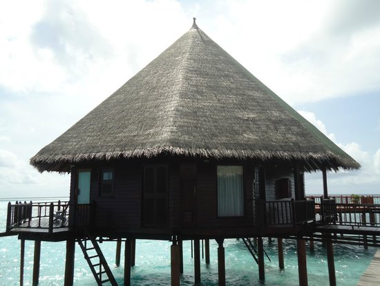 Velidhu Island Resort : Le pilotis