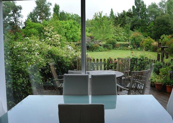 La Maison de Lavande : A breakfast table with a view