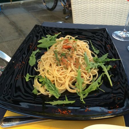 Antico Caffe: Sea Urchin Spaghetti