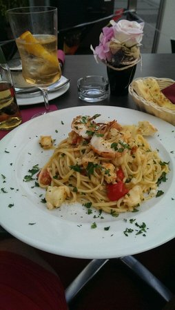 StaSera Pizzeria: Linguine mit Scampi - STASERA