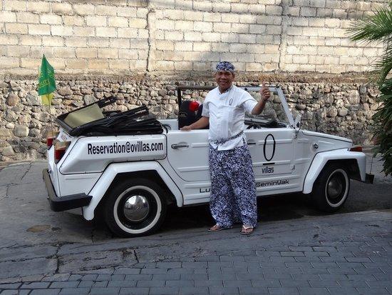O Villas : Car and Butler.  Both very cool.