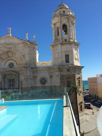 Hotel La Catedral : View from rooftop