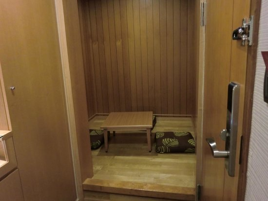 Tokyo International Hotel : 和室風