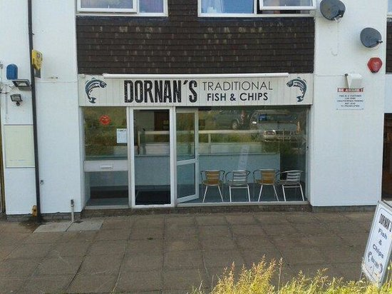 Dornan's Fish and Chips Shop: Dornan's fish and chips