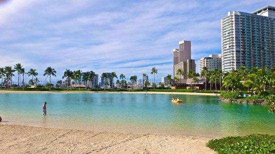 Hilton Hawaiian Village Waikiki Beach Resort Man Made Lagoon In The Hotel Grounds
