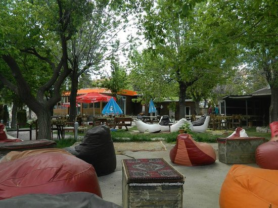 Green Garden Cafe: bahce2
