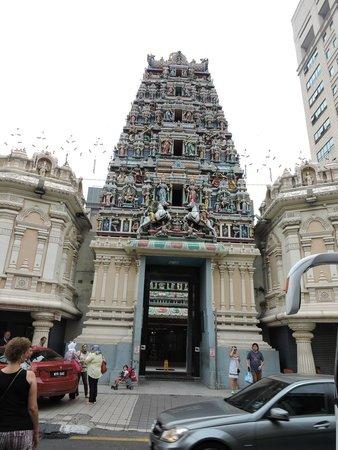 Sri Maha Mariamman Temple : Mijn eigen foto