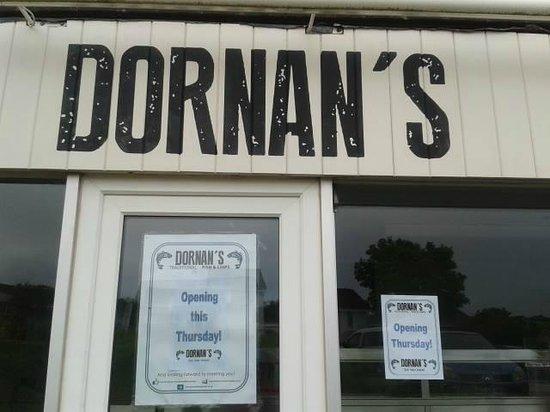 Dornan's Fish and Chips Shop: Dornan's chippy