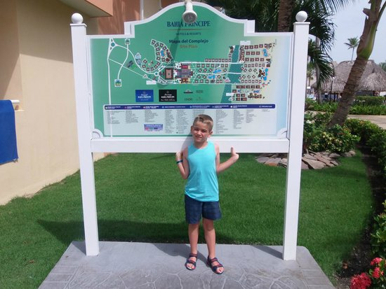 Luxury Bahia Principe Esmeralda Don Pablo Collection: Se queria llebar el mapa!!