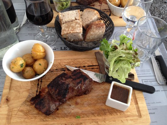 Le Phare : Fillet steak!