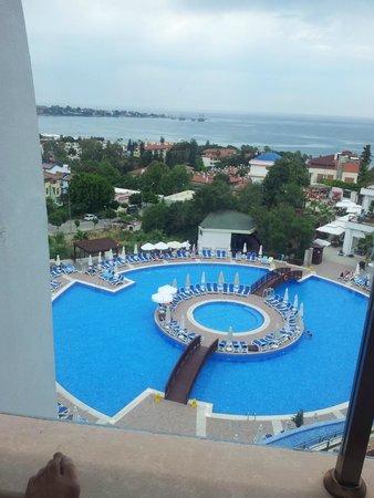 Side Prenses Resort Hotel & Spa: Balcony View