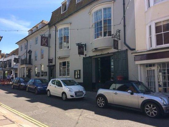The George in Rye: Blue skies at The George