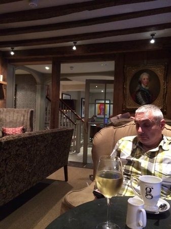 The George in Rye: Front of house lounge
